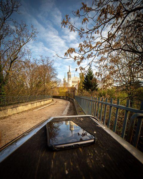 Lyon photographie photographe aparisi fourvière reflet iPhone