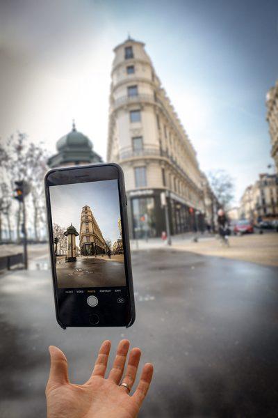 Lyon photographie photographe aparisi lévitation flat iron iPhone