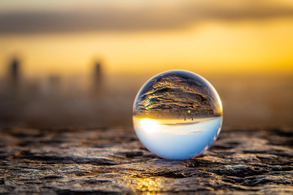 Comme dans une bulle, Lyon Lensball