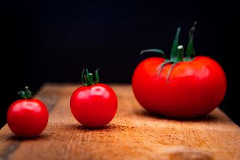 Tomates en diagonal